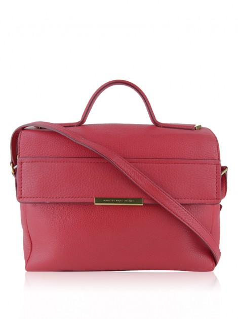 Bolsa Marc By Marc Jacobs Hail to the Queen Diana Vermelho