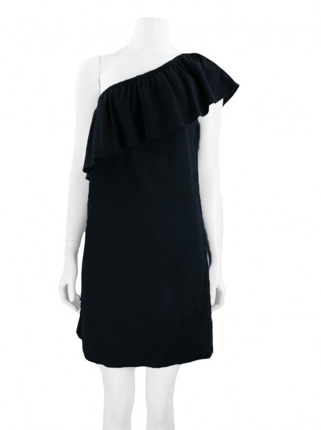 Vestido Seven For All Mankind Tecido Preto