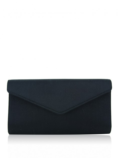 Clutch Yves Saint Laurent Mail Preto