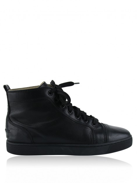 Tênis Christian Louboutin High Top Preto