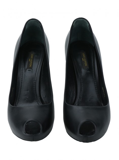 Sapato Louis Vuitton Oh Really Calfskin Preto