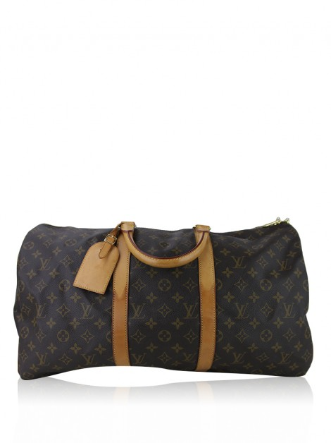 Mala Louis Vuitton Keepall Monograma