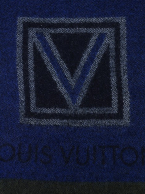 Cachecol Louis Vuitton Cashmere Estampado