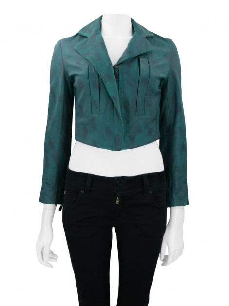 Jaqueta Talie NK Cropped Verde