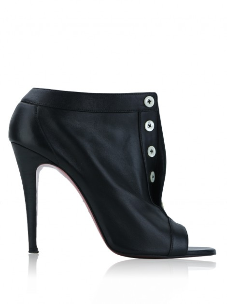 Ankle Boot Christian Louboutin Maotic 100 Preto
