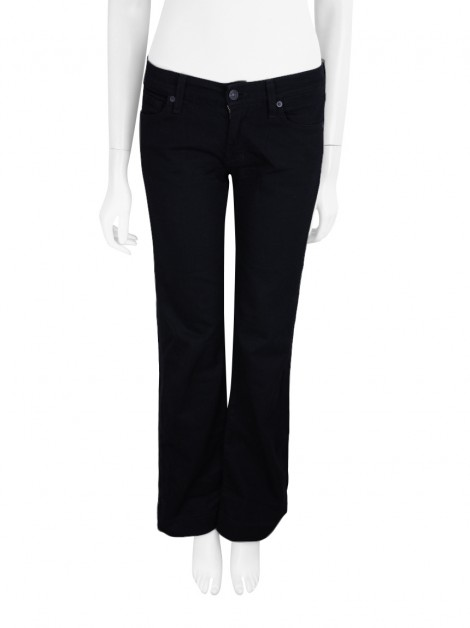 Calça Seven For All Mankind The Slim Trouser Preto