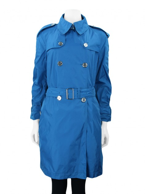 Trench Coat Burberry Brit Nylon Azul