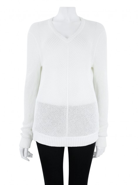 Blusa Armani Exchange Tricô Off White