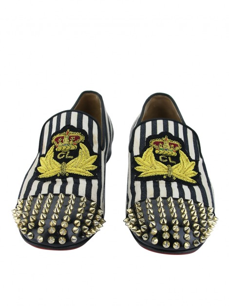 Mocassim Christian Louboutin Spooky Spiked Loafers