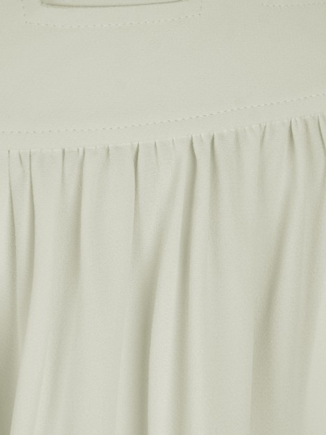 Calça Sophia Hegg Pantacourt Envelope Off - White