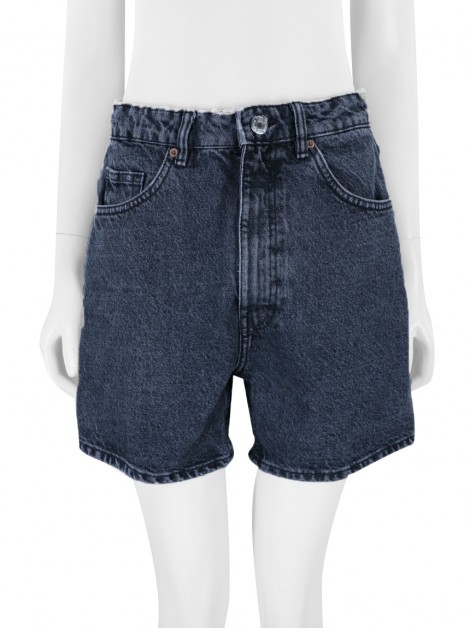 Shorts Zara Denim Cinza