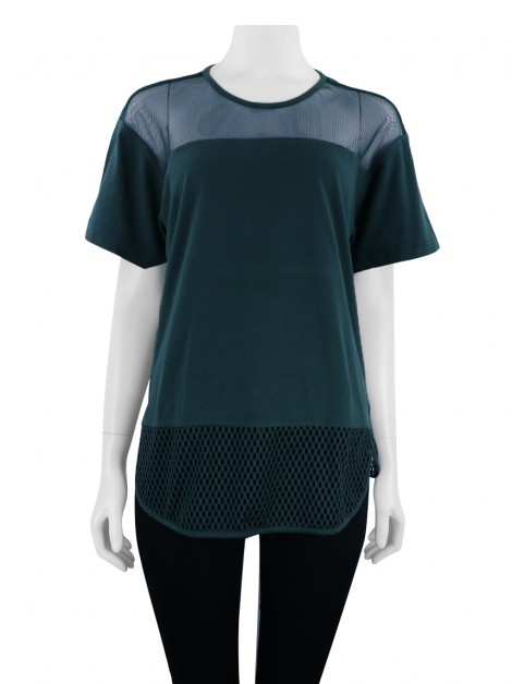 Blusa Adidas x Stella McCartney Essentials Mesh