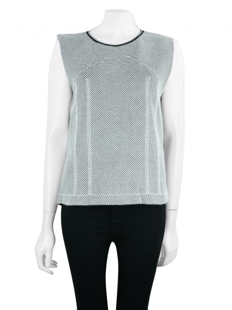 Blusa Gig Couture Tricot P&B