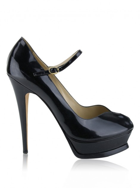 Sapato Yves Saint Laurent Tribute Mary Jane Preto