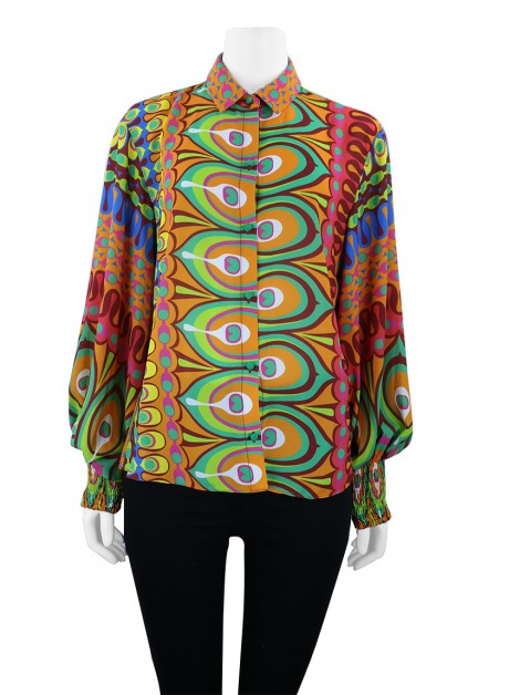 Camisa Alexis Kaito Psychedelic