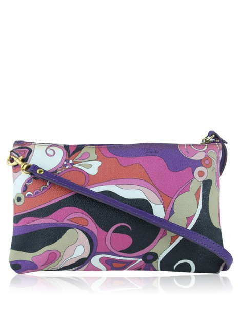 Clutch Emilio Pucci Printed Canvas Wristlet