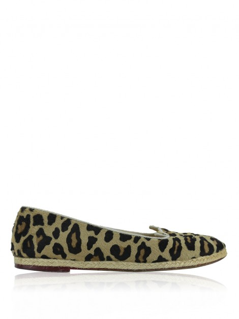 Slipper Charlotte Olympia Animal Print