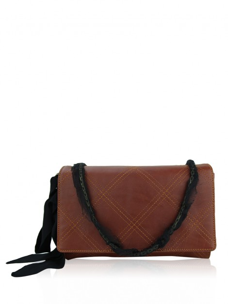 Bolsa Lanvin Sugar Small Brown