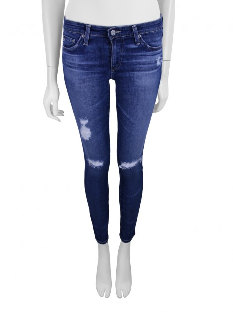 Calça Adriano Goldschmied The Legging Ankle Jeans