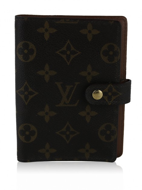 Agenda Louis Vuitton Canvas Monograma
