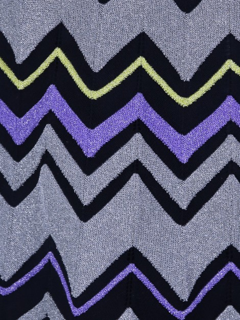 Saia M Missoni Chevron Lurex