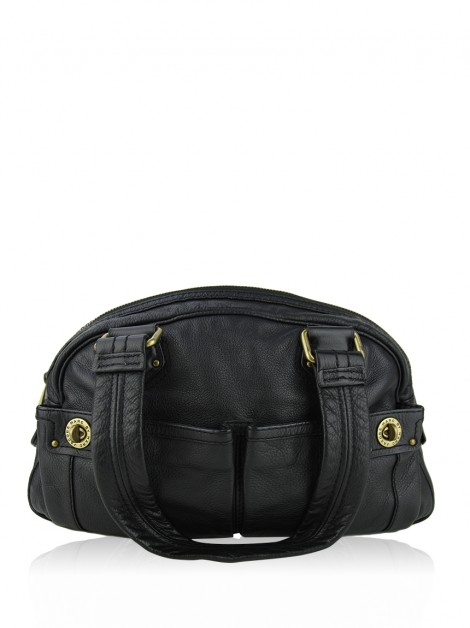 Bolsa Marc By Marc Jacobs Totally Turnlock Bowler Preto