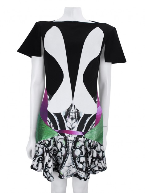 Vestido Peter Pilotto Cocktail Estampado