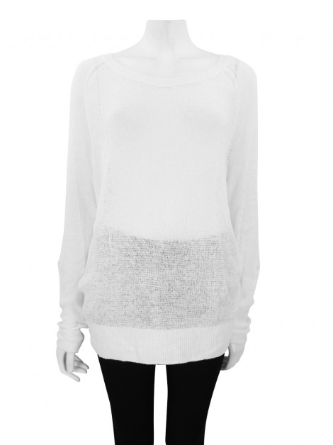 Blusa Banana Republic Tricô Off White