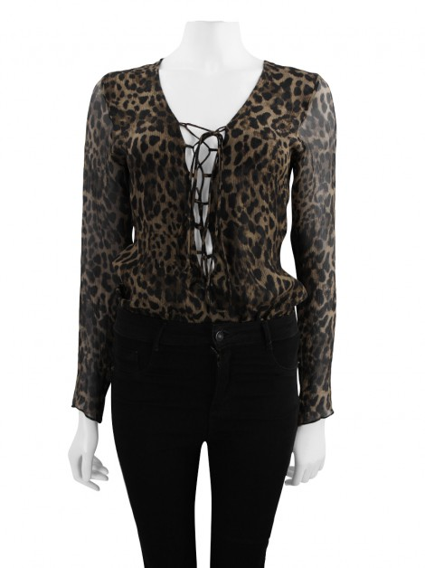 Body Adriana Degreas Seda Animal Print