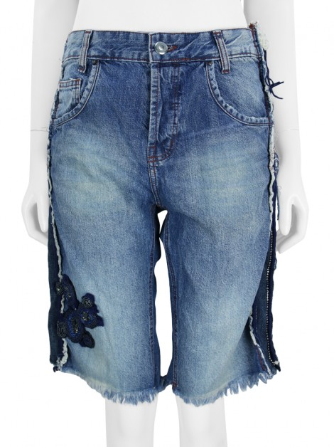 Shorts Animale Destroyed Jeans
