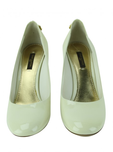 Sapato Louis Vuitton Oh Really! Creme