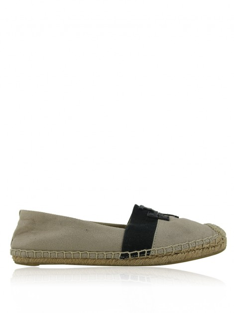 Alpargata Tory Burch Weston Bicolor