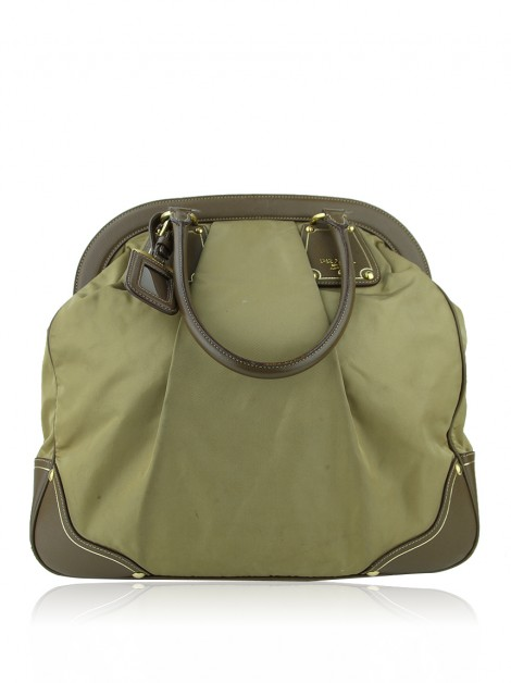 Bolsa Prada Top Handle Nylon Marrom
