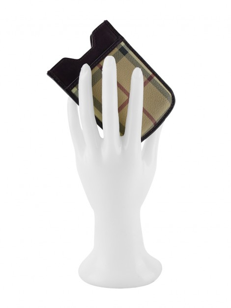 Phone Case Burberry Canvas Monograma