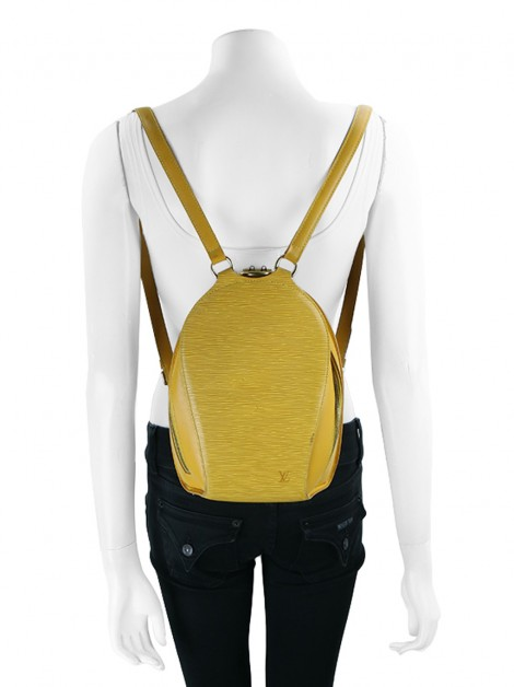 Mochila Louis Vuitton Mabillon Tassil Yellow Epi