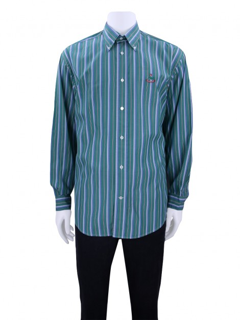 Camisa Façonnable Listras Masculino
