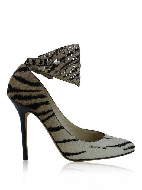 Sapato Jimmy Choo Ankle Strap Animal Print