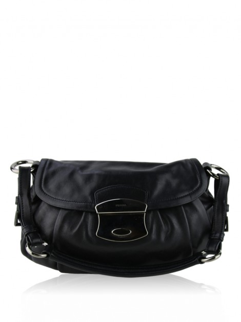 Bolsa Prada Vitello Sound Bag Preto
