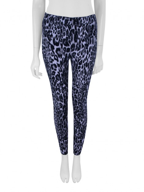 Calça Seven For All Mankind Giambattista Valli x Seven For All Mankind Skinny Animal Print