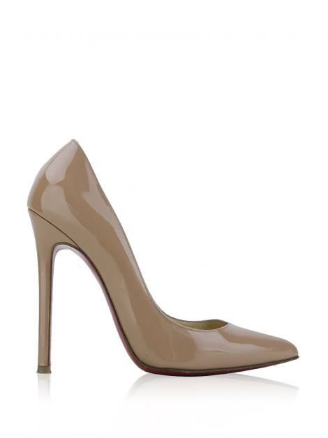 Sapato Christian Louboutin Pigalle 120 Nude