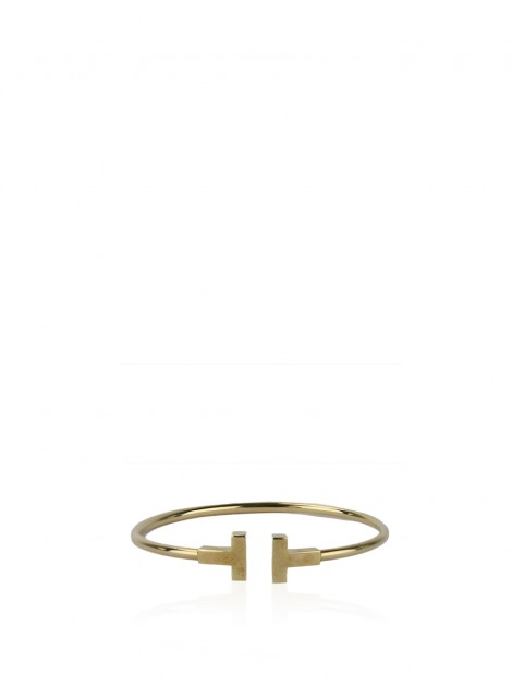 Pulseira Tiffany & Co T-Wire Ouro 18K