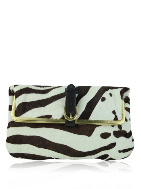Clutch Jimmy Choo Frame Animal Print