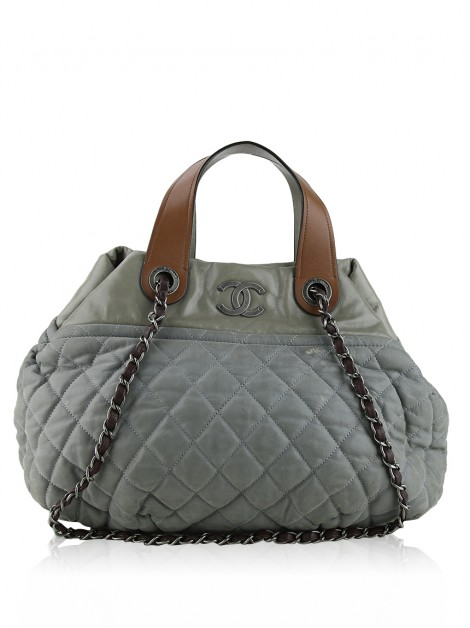 Bolsa Chanel In the Mix Cinza
