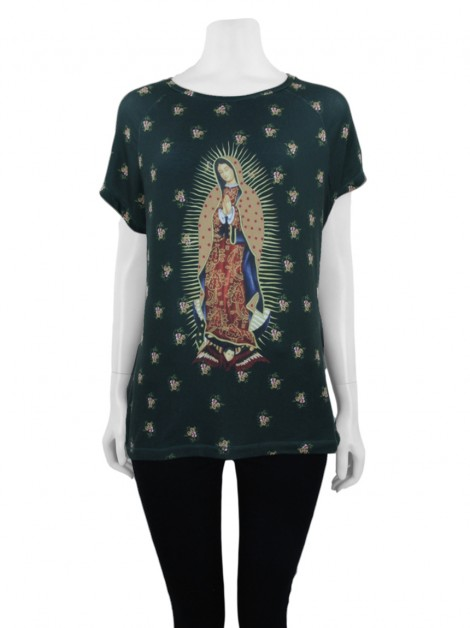 Blusa Mixed Guadalupe Floral