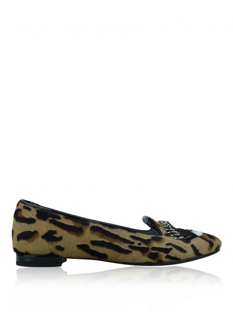 Loafer Chiara Ferragni Flirty Piercing Leopardo