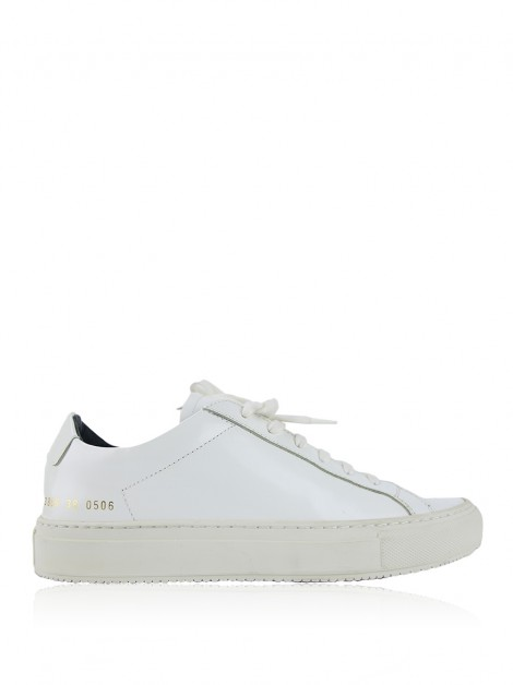 Tênis Achados do EU Woman by Common Projects Achilles Premium Low Branco