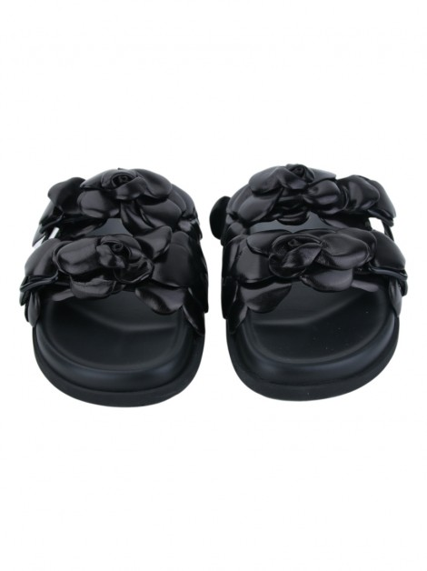 Slide Valentino Atelier Shoes Preto