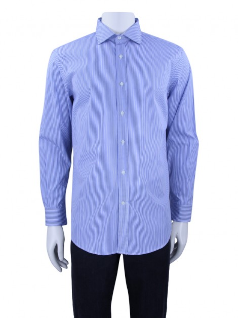 Camisa Ralph Lauren Tailored Fit Listrada Masculina