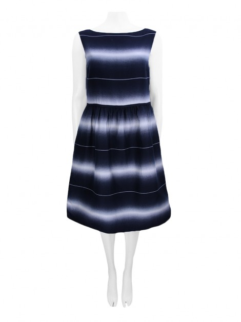 Vestido Marc By Marc Jacobs Lida Striped Oatmeal