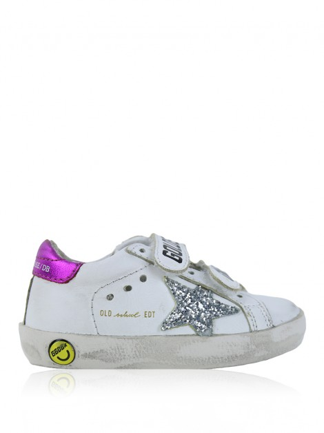 Tênis Golden Goose Deluxe Brand Old School Kids